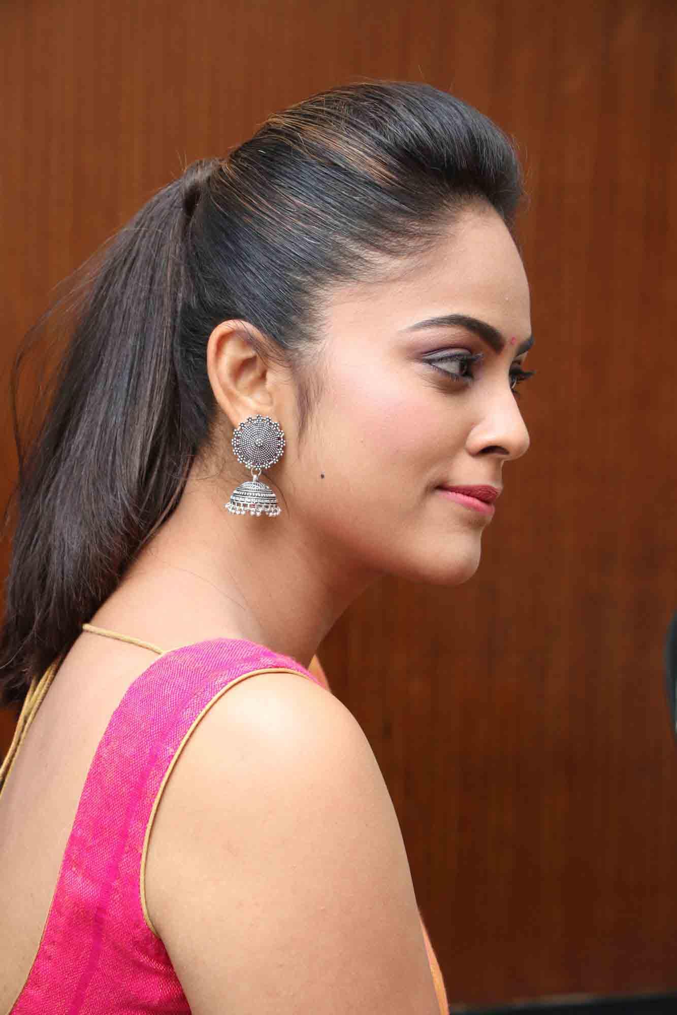 nandita sweta saree photos at asuravatham press meet southcolors 17