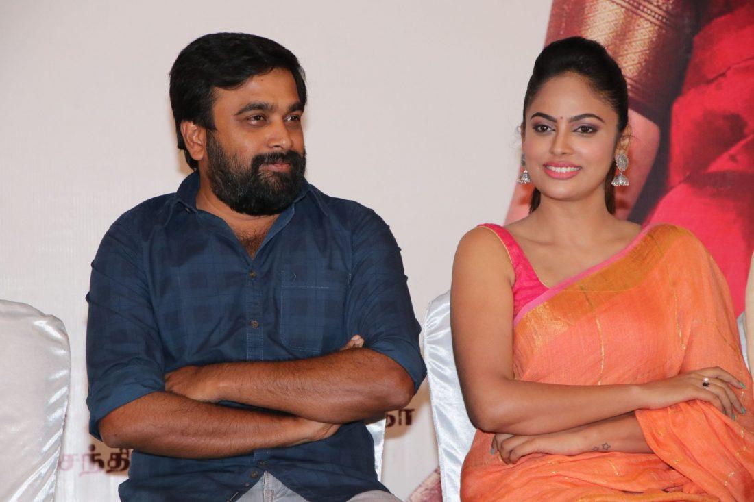 nandita sweta saree photos at asuravatham press meet southcolors 9