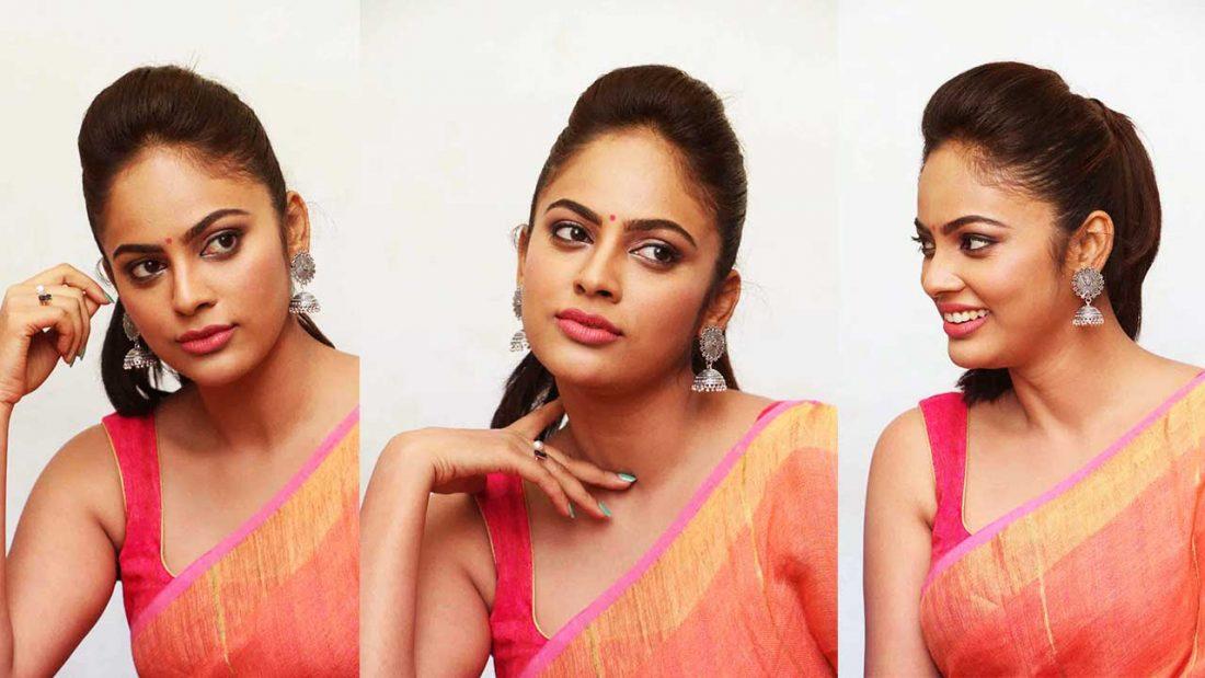 nandita swetha saree photos