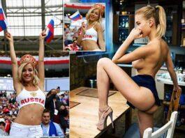 Natalya Nemchinova Turns Hottest Russia World Cup Fan