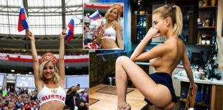 Natalya Nemchinova Turns Hottest Russia World Cup Fan