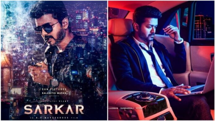 Police Complaint Against actor Vijay over Sarkar Movie Posters