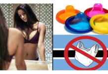 Poonam Pandey Asks Condom Is A Banned Item