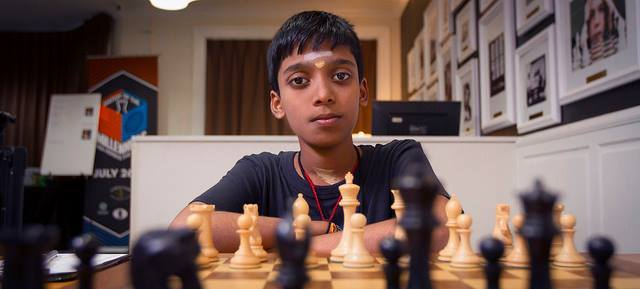 Praggnanandhaa Becomes Second Youngest Chess Grandmaster