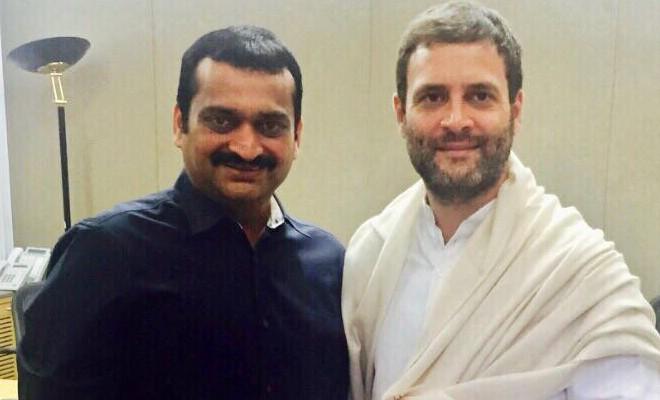 Bandla Ganesh Meets Rahul Gandhi