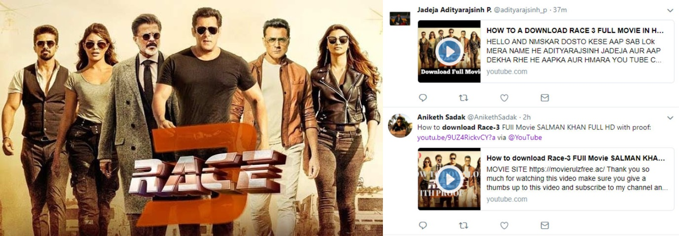 Race 3 Full Movie Online