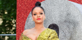 Rihanna Wardrobe Malfunction at Ocean's 8 Red Carpet