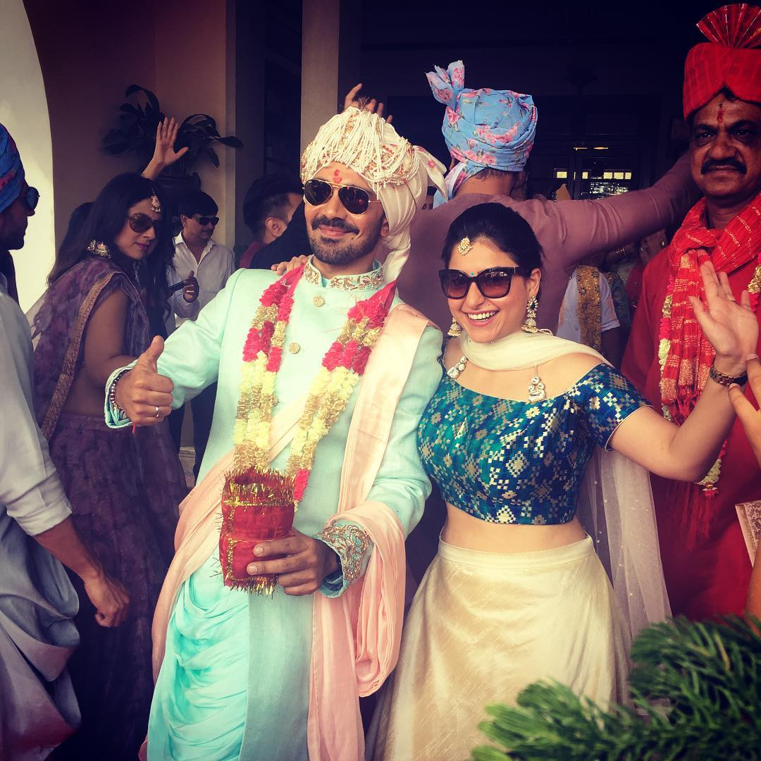 Actress Rubina Dilaik and Abhinav Shukla Wedding Photos | SouthColors