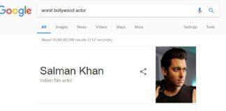 Worst Bollywood Actor