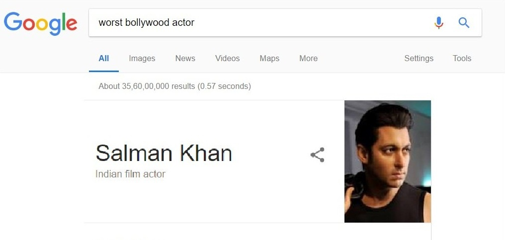 Worst Bollywood Actor