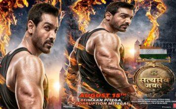 Satyameva Jayate Movie First look Poster