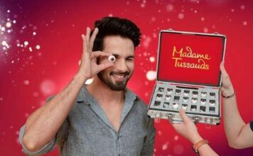 Shahid Kapoor Wax Statue at Madame Tussauds