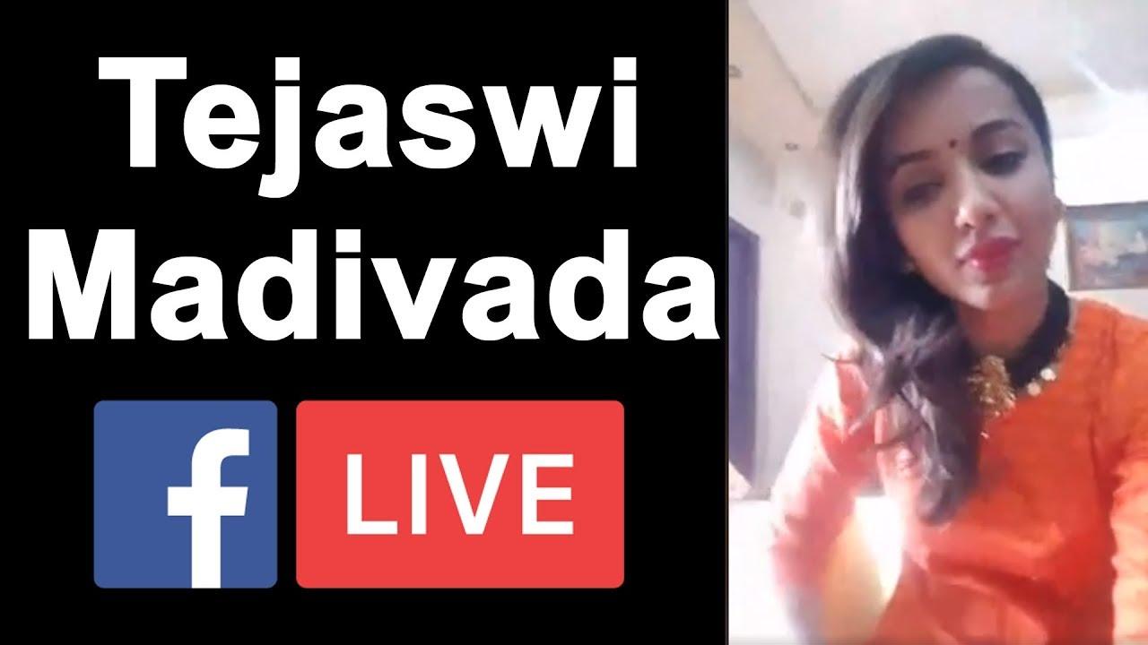 Tejaswi Madivada Facebook Live after Elimination From Bigg Boss 2 Telugu