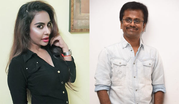 Actress Sri Reddy Targets Director Murugadoss