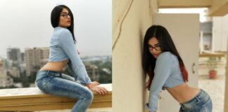Adah Sharma Flaunts Hot Curves in Skinny Jeans