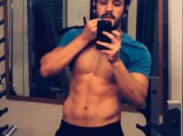 Akhil Akkineni Six Pack Body Picture Shared Instagram