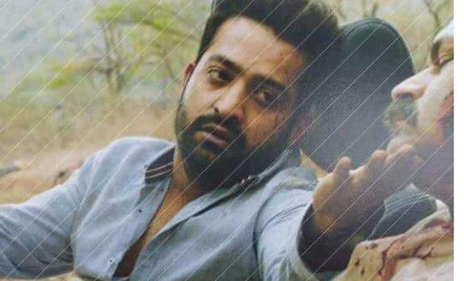 Aravindha Sametha Movie Leaked Photo