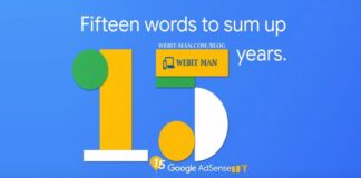 Google Celebrating 15 Years of AdSense