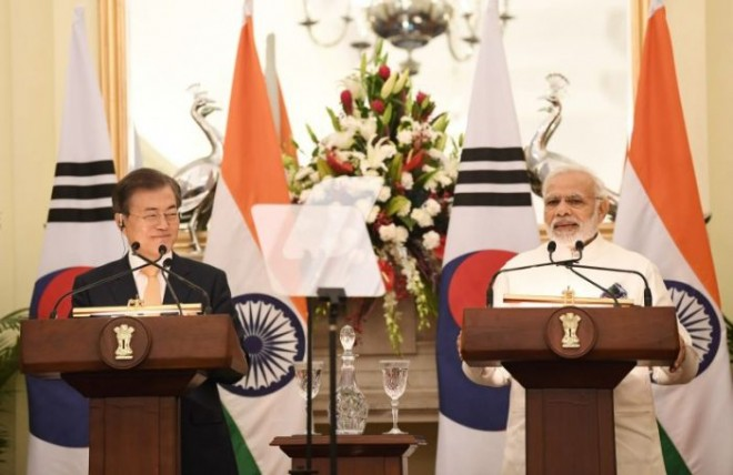 India and South Korea sign 11 Agreements on trade and commerce