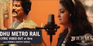Keerthy Suresh Turned Singer