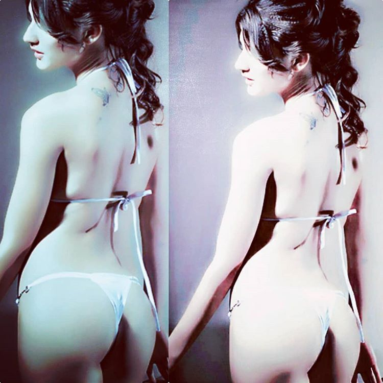 Mahika Sharma Flaunts Booty in Two-Piece on Instagram