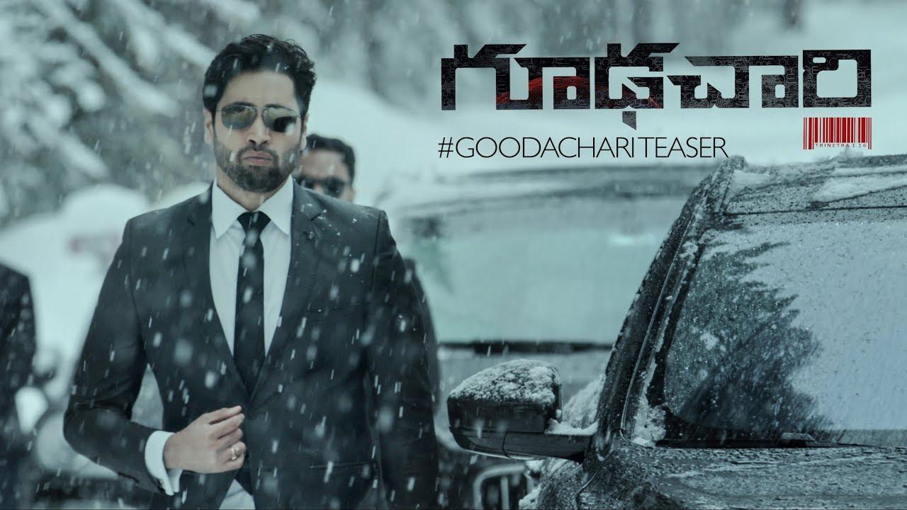 Goodachari 2018 Movie Teaser