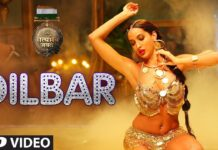 Nora Fatehi DILBAR Full Video Song From Satyameva Jayate Movie