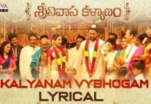 Kalyanam Vybhogam Lyrical Song From Srinivasa Kalyanam Movie