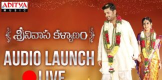 Watch Srinivasa Kalyanam Audio Launch Live Online Streaming
