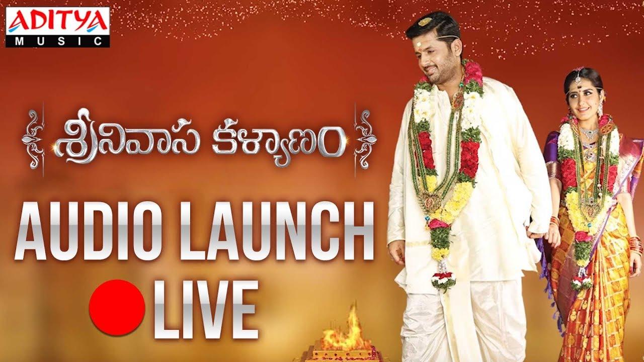 Watch Srinivasa Kalyanam Audio Launch Live Online Streaming