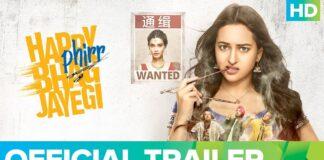 Happy Phirr Bhag Jayegi Official Trailer