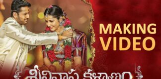 Srinivasa Kalyanam Full Movie Making Video