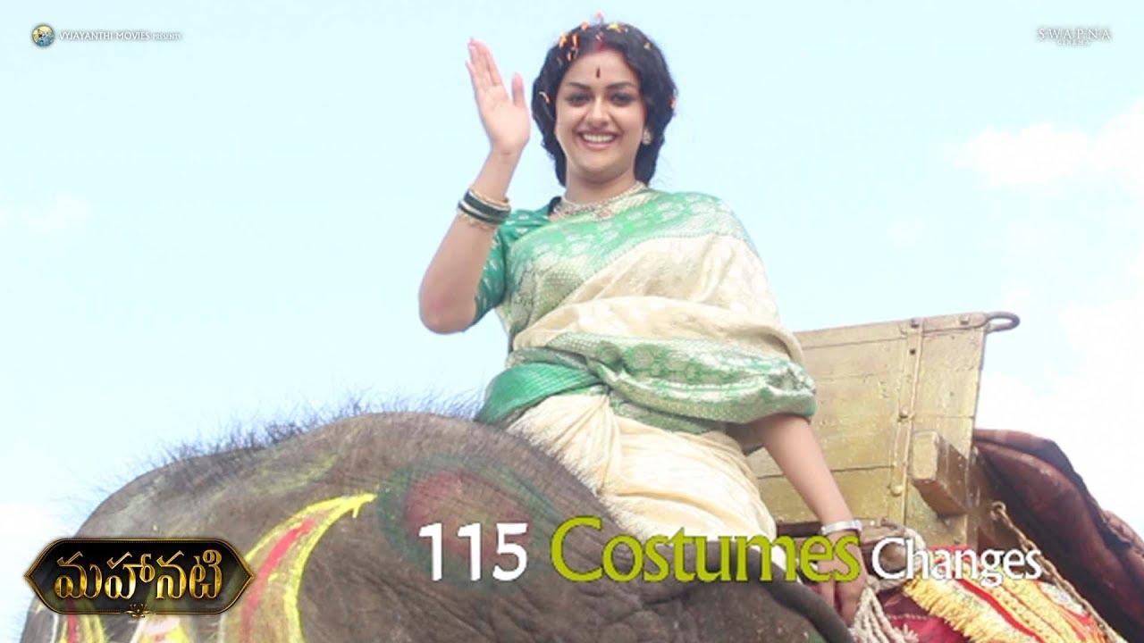 Behind The Scene of Keerthy Suresh Transformation as Mahanati Savitri