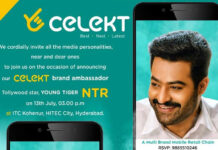 NTR Turns Celekt Mobiles Brand Ambassador