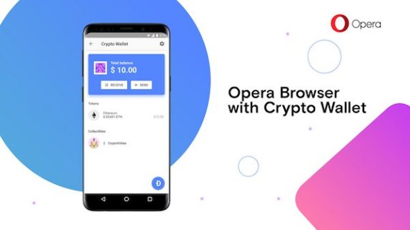 Opera Browser with Crypto Wallet