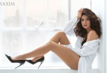 Priyanka Chopra Maxim India Hottest Cleavage Photoshoot