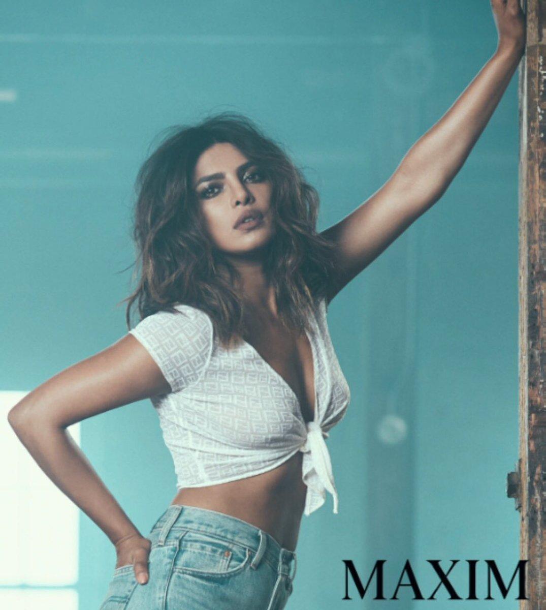 priyanka chopra maxim india hottest cleavage photoshoot southcolors 1