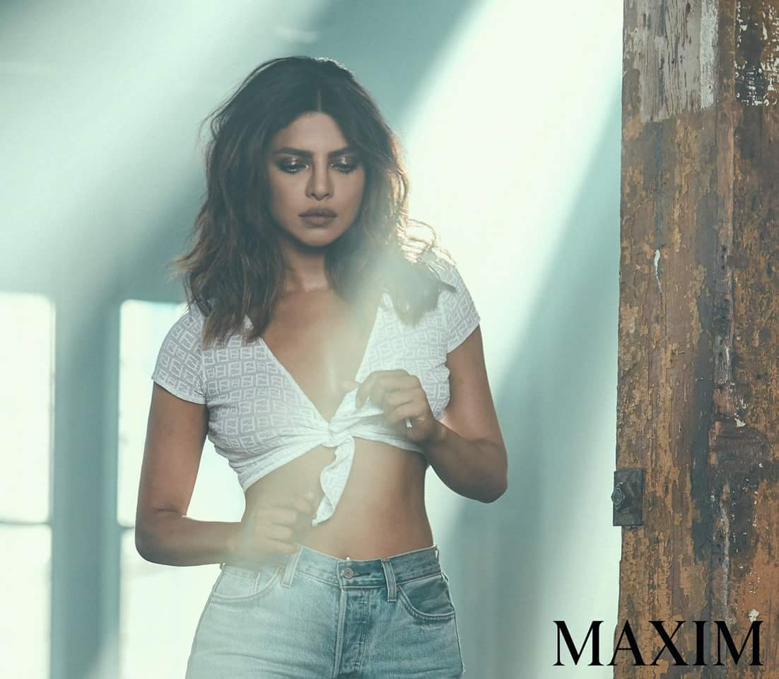 priyanka chopra maxim india hottest cleavage photoshoot southcolors 8