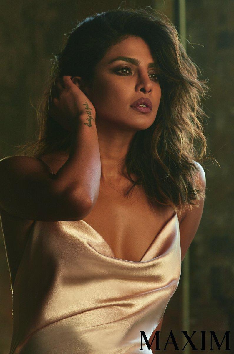 priyanka chopra maxim india hottest cleavage photoshoot southcolors 9