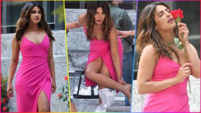 Priyanka Chopra Photos From Isn't It Romantic Movie Sets