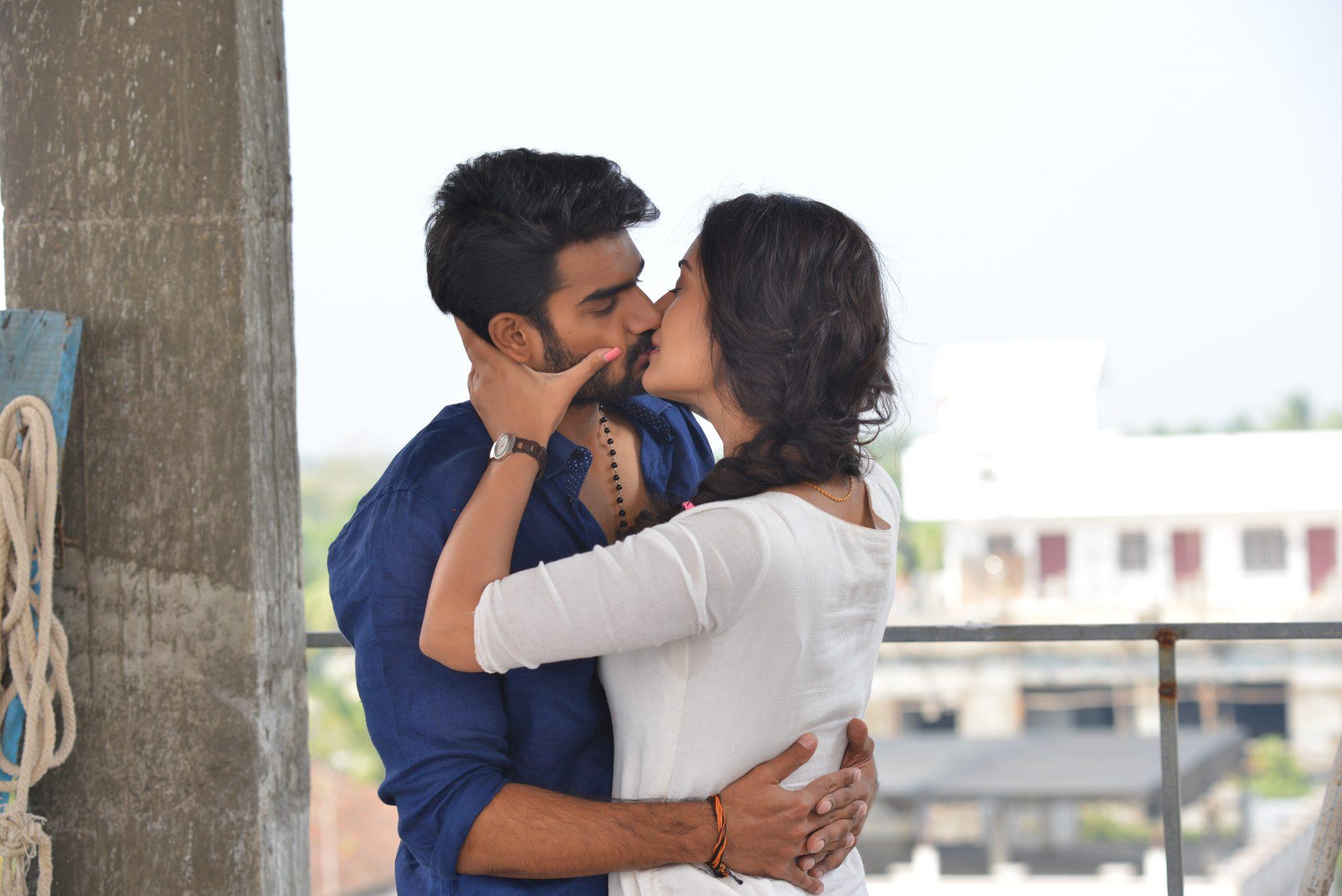 rx100 movie actress payal rajput and karthikeya liplock stills southcolors 11