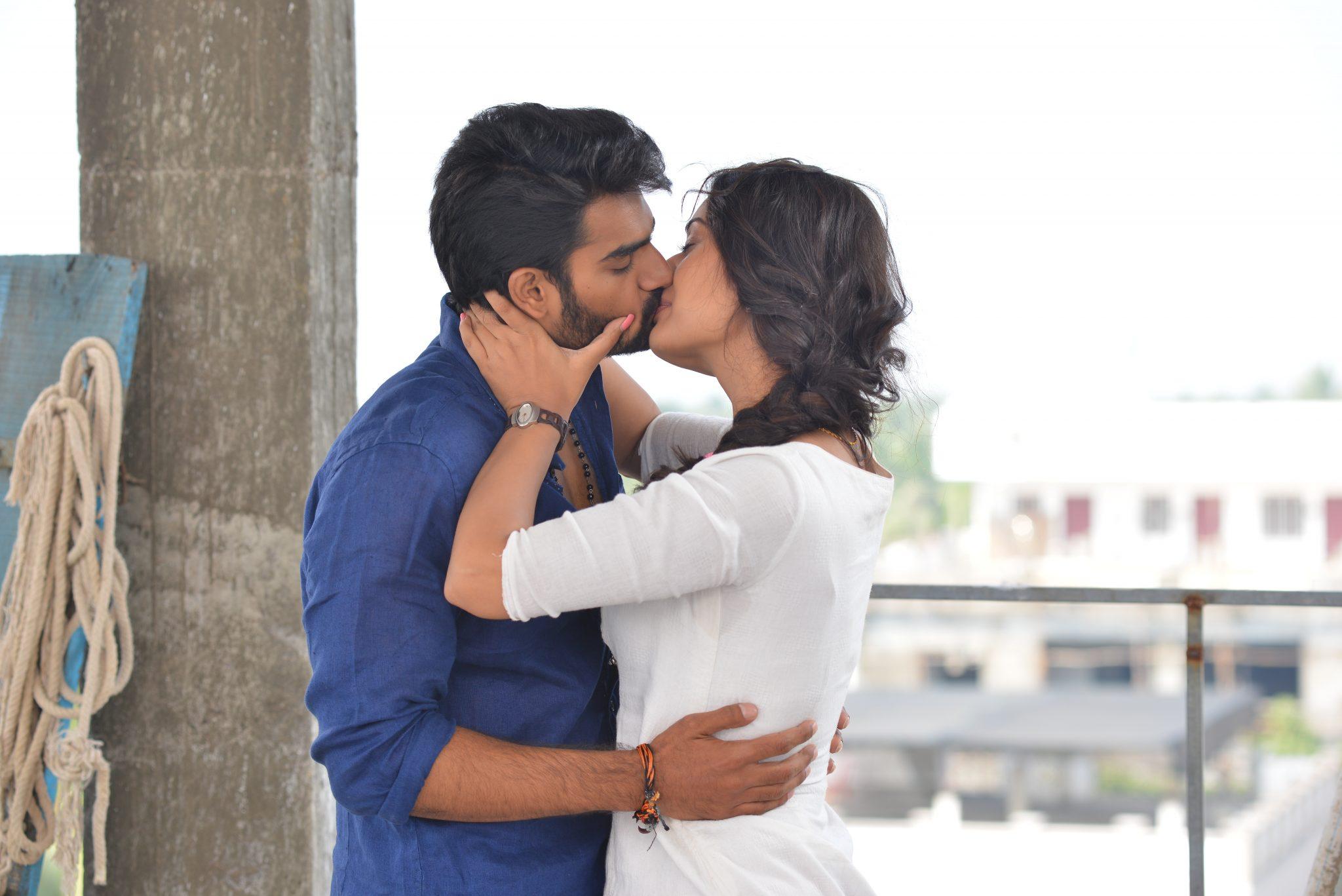 rx100 movie actress payal rajput and karthikeya liplock stills southcolors 13