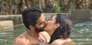 RX100 Movie Actress Payal Rajput and Karthikeya Liplock Stills