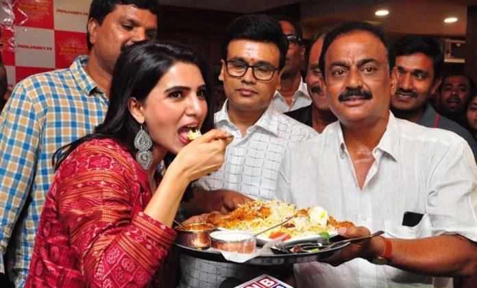samantha akkineni lunches bahar cafe at punjagutta photos southcolors 10