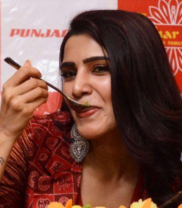 samantha akkineni lunches bahar cafe at punjagutta photos southcolors 17