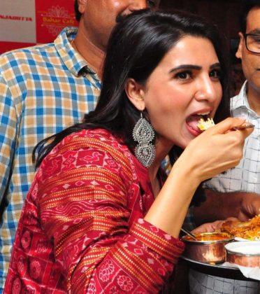 samantha akkineni lunches bahar cafe at punjagutta photos southcolors 8