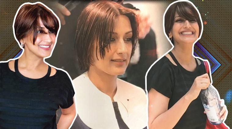 Sonali Bendre Haircut
