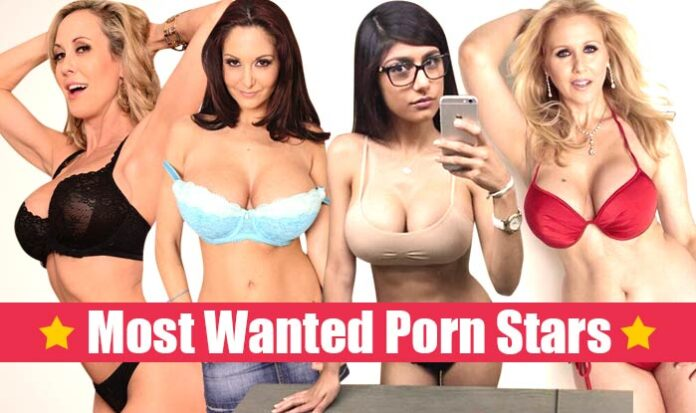 Top 5 Most Searched Adult Stars on the Internet in 2018