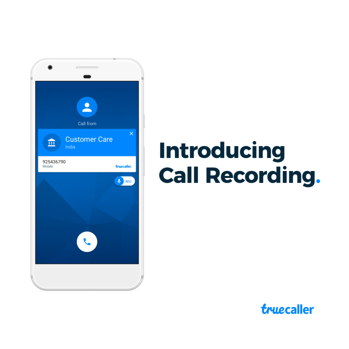 Truecaller Call Recording Feature For Premium Users on Android
