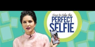 Sunny Leone Teaches How to Take The Perfect Selfie